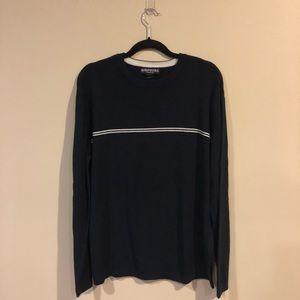 Men's Navy Blue Aeropostale Crewneck Sweater
